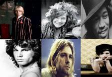 Klubb 27 - döda rockstjärnor som dog vid 27